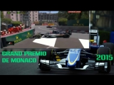 Формула 1.Гран-При Монако 2015. Ошибки,Сходы и Столкновения Гонки.