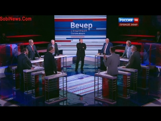 Поляк на канале  Россия 24. (Прямой эфир )