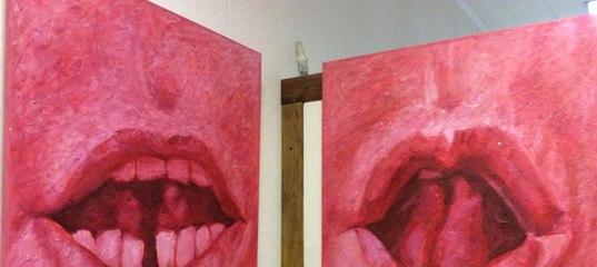 гигантские губы смазанные для могут