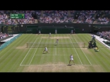 Timea Babos - Yaroslava Shvedova vs Martina Hingis - Sania Mirza (2016 Wimbledon - Quarterfinal)