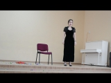 Выступление Дианы Русиновой