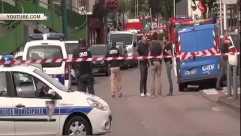 Захватчики заложников во французской церкви причисляли себя к ИГИЛ