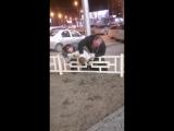 Священник и его водитель -прижали- мужчину в центре Новосибирска