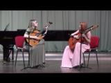 Конкурсное выступление на #Планетаталантов2016#Калининград. Мария Беккер (гитара), А. Руш (гитара) - Egberto Gismonti - Aqua e