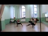 Танец в стиле Pole exotic, продвинутые, Вертикаль, г Ярославль, тренер Едемская Дарья
