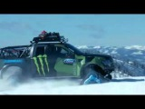Italo disco 2015  D White   Follow Me  Ken Block snow truck Drift