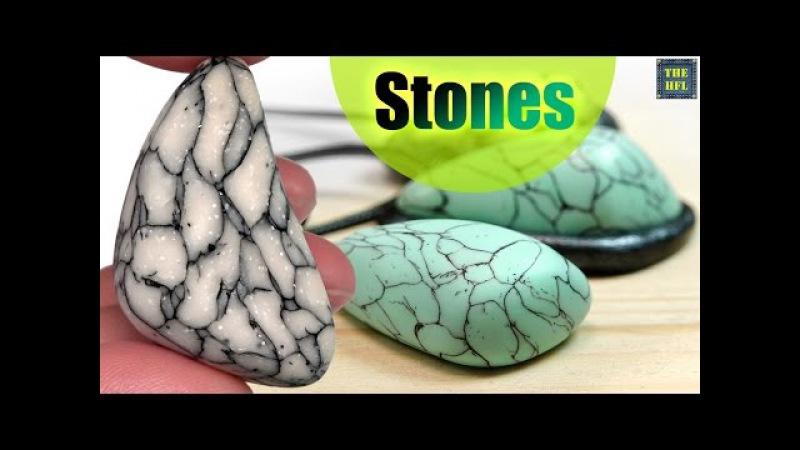 Полимерная глина ▼ ИНТЕРЕСНЫЕ КАМНИ ▼ Самый простой способ Светлана Няшина