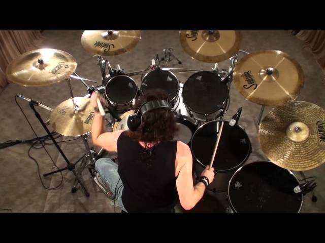 Megadeth Holy wars Nick Menza Drums Only