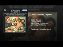 Christ captures - Agitato
