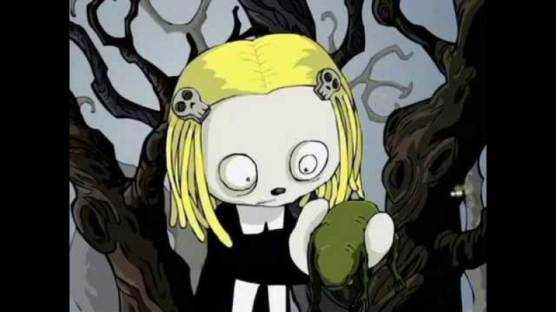 Ленор - маленькая мёртвая девочка: Лягушка (Толстушка 4-я серия)