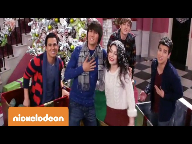 Big Time Rush | All I Want For Christmas Is You | TeenNick