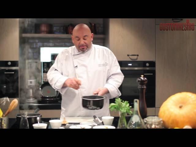 Шеф-повар ресторана Gusto расскажет нам как приготовить Ризотто с белыми грибами