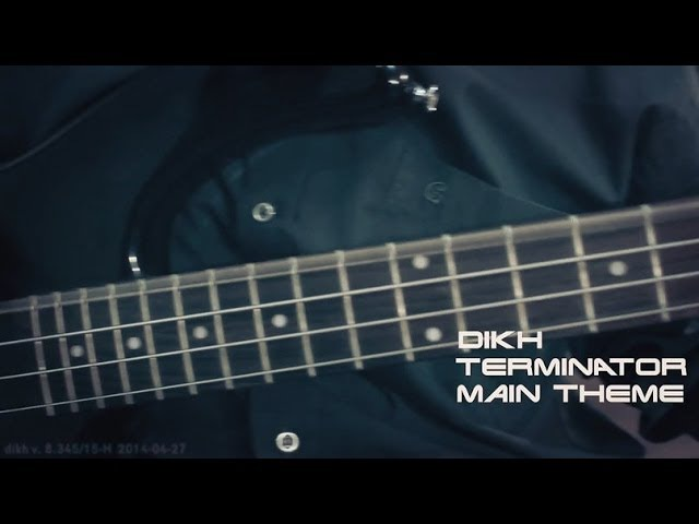Terminator - Main theme Guitar cover (by dikh)