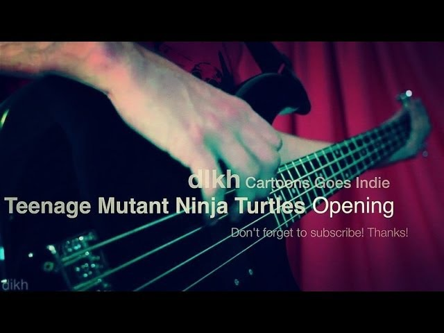 Teenage Mutant Ninja Turtles (TMNT) opening (Cartoons Goes Indie) dikh cover