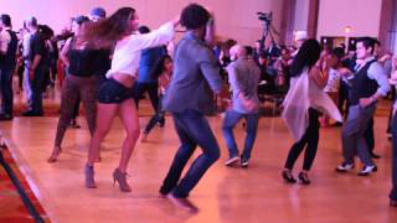 Terry SalsAlianza et Brittney Vega - Salsa @ B.I.G 2015