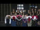 [160521] 2016 Asia Model Awards NCT U вручение награды New Star Artist Award