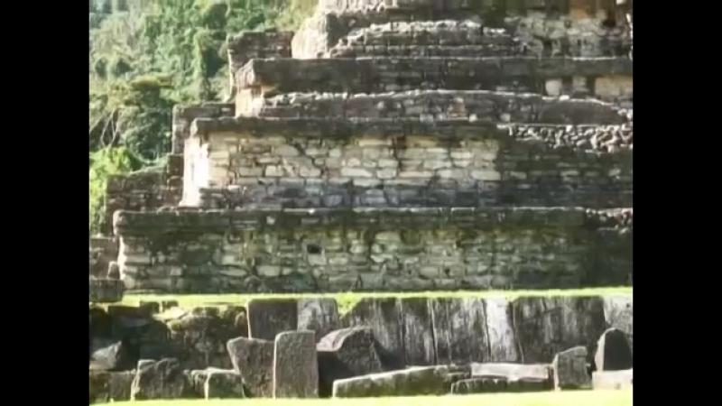 Неизвестная Мексика. Жемчужина в джунглях. Паленке. Кто захоронен в «гробнице Пакаля»
