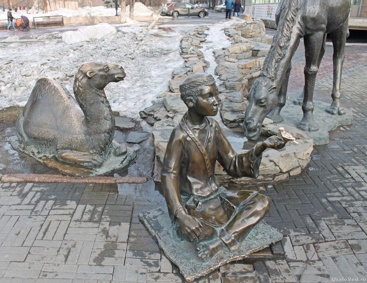 Верблюд на Кировке