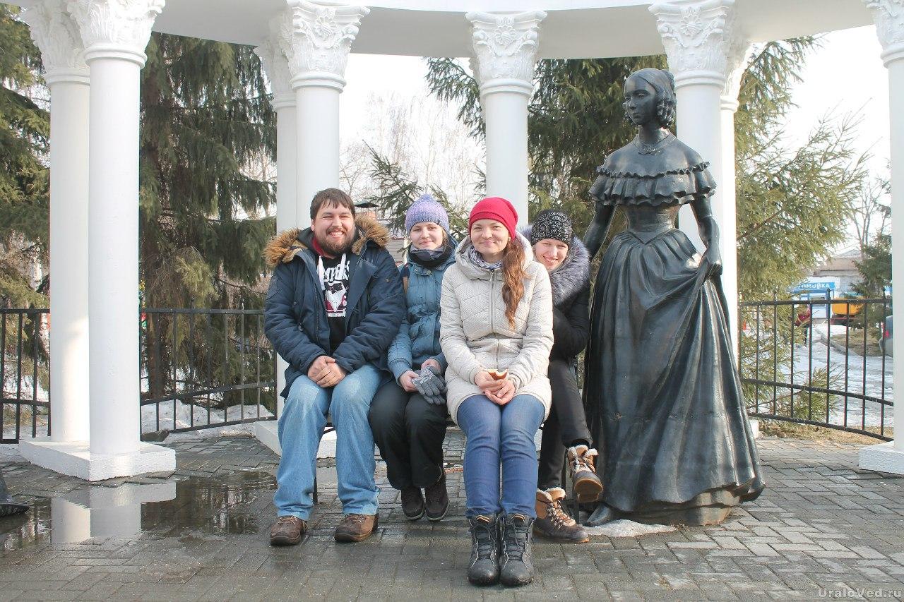 В парке Пушкина
