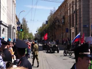На марше Иван-Виллис -Газ-67Б и соркопятка.