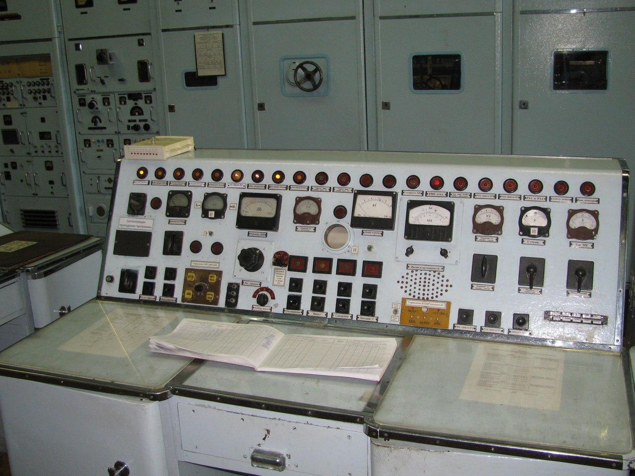 пульт управления передатчиком Буран
