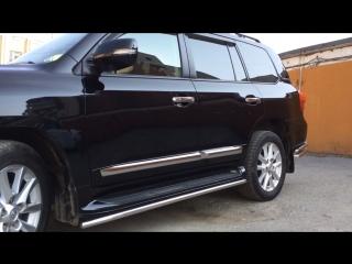 Toyota Land Cruiser 200. Обработан защитным керамическим покрытием Opti Coat.