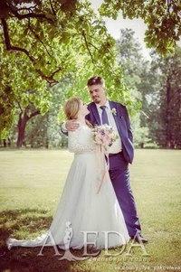 Наша 👰💍#невестаАледа #brideAleda Ксения в платье  👗 Фостайн😍 #gabbiano