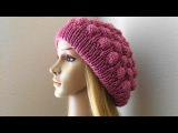 How To Knit A Raspberry Hat, Lilu's Handmade Corner Video # 58