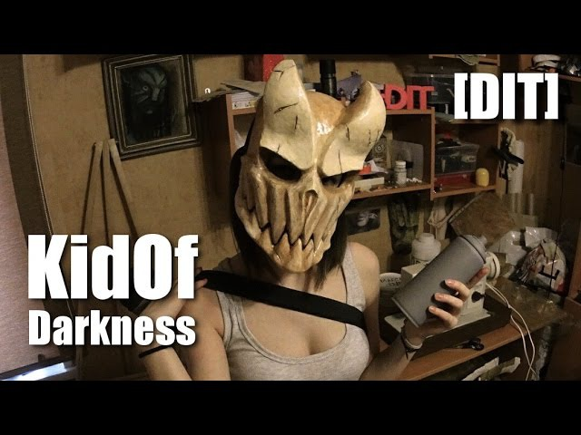 [DIT] How to make Kid Of Darkness mask (Как сделать маску Шиколая Александра)