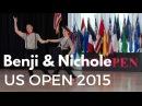US Open любимый танец Француженка