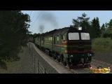 Тест нового локомотива 2М62У И будущий сценарий в 108 км