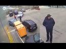 В Киеве орудует группа воров, которая расстреливает авто из рогатки