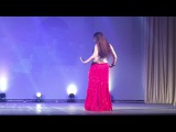 Yulia Redkous dancing Song of Bosy