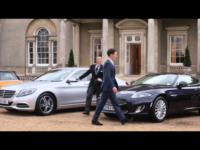 Benedict Cumberbatch in Commercial: Dunlop Directors Mansion Version