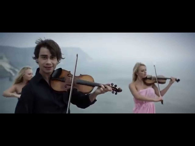 Alexander Rybak в Ялте Europe's skies Mashup Небеса Европы