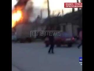 Взрыв в Кизляре АЗС 2