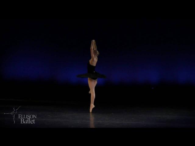 Black Swan variation, Swan Lake Act III-Amber Miller, 17