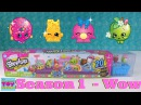 Shopkins Season 1 Mega 20 Pack Opening Unboxing | Toy Review | PSToyReviews