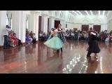 Танго Сеньоры, Европейская программа 4 танца D класс