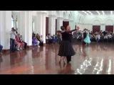 Медленный вальс Сеньоры, Европейская программа 4 танца D класс