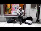 DAVE STEWART Amazing street musician (I'm yours and Cannonball)