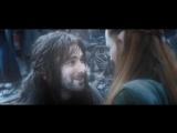 Хоббит - Тауриэль любовная история, прощание с Кили / Hobbit - Tauriel, love story, farewell to Kili