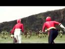 Power Rangers Megaforce Samurai Morph And Fight Fan Made