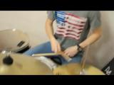 Soulja Boy -- Crank Dat (Travis Barker Remix) (drum cover)