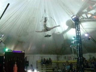 гимнастка цирка