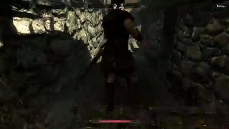 Странствия котомага в мире Skyrim 2 Начало пути