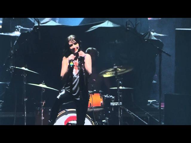 """Kiss It Dark Nights"""" Dorothy@Santander Arena Reading PA 4 1 16"""