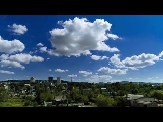 Timelapse. Clouds. Artem