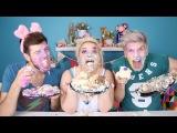 EAT LIKE A PIG CHALLENGE w JOEY GRACEFFA and DANIEL PREDA