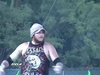 Balls Mahoney & MASADA vs. Viper & Mosh Pit Mike